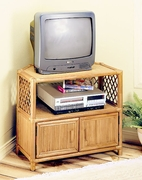 Lattice Corner TV Stand (UPS $65)