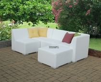 Micro-Fiber All Weather Leather Sectional (MF)
