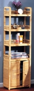 Spiral Etagere w/ Cabinet (UPS $85) (20% Off!)