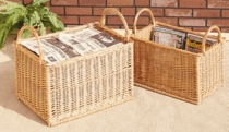 Willow Recycling Baskets (UPS $30)