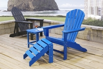 Poly-Wood Adirondack Chair (MF) (40% Off!)