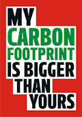 Carbon Footprint Magnet