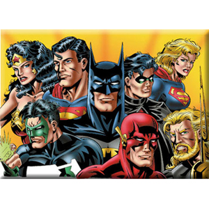 Justice League Group Magnets