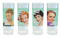 Anne Taintor Shot Glasses