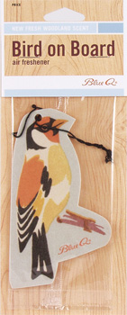 Bird on Board Air Freshener