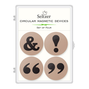 Punctuation Magnet Set