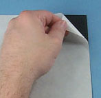 12 x 24 Adhesive Backed Magnet