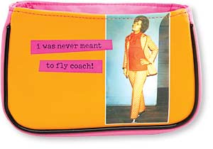 Fly Coach Cosmetic Bag