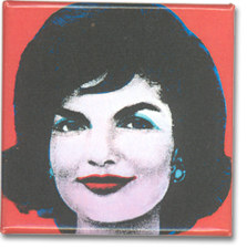 Jackie Kennedy on Red