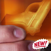 FREEZE! Handgun Ice Cube Tray