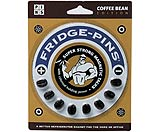 Fridge-Pins Coffee Bean Magnet 8-Pack