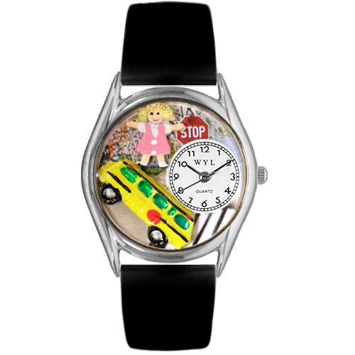 Personalized School Bus Driver Classic Watch