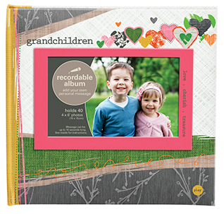 Talking Photo Album - Grandchildren - 4x6