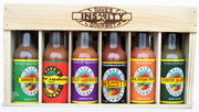 Tex-Mex Gift Sets: Hot Sauce Spicy Six Pack