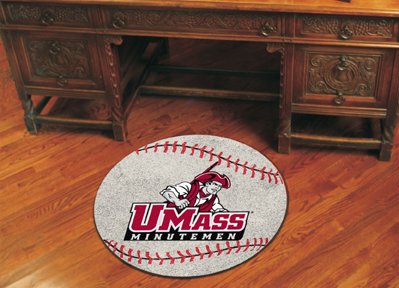 University of Massachusetts Amherst Baseball Rug