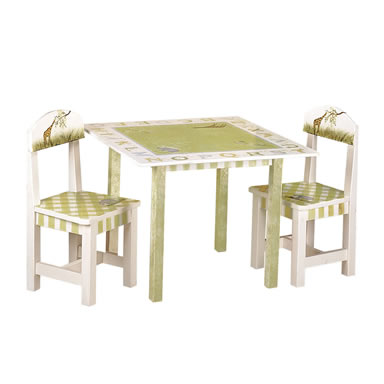 Teamson Child Table - Alphabet Collection
