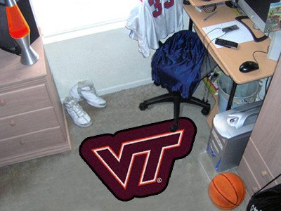 Virginia Tech Mascot Mat