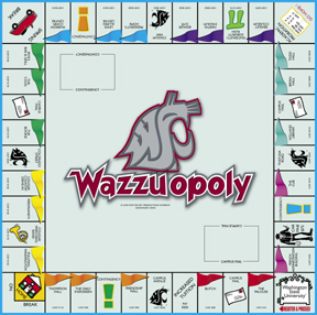 Washington State - Wazzuopoly Board Game