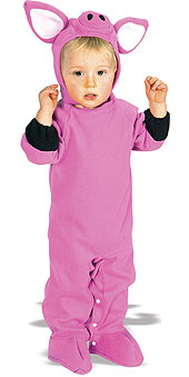 """Piggy Wiggy"" Infant Pig Costume"