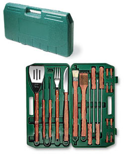 Picnic Time BBQ Set - 18 pc