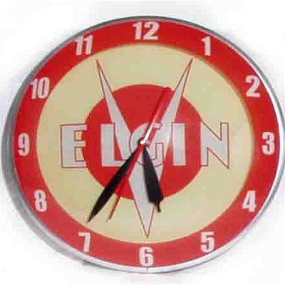American Retro Elgin Double Bubble Clock