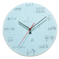 Pop Quiz Clock - Graph Paper