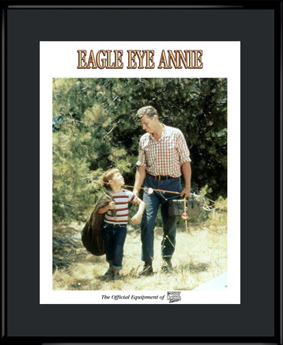"Andy Griffith Show Lithograph - ""Eagle Eye Annie"""
