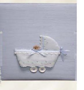 Baby in Buggy Personalized Baby Keepsake Box - Large