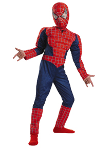 Child Spiderman 3 Muscle Costume
