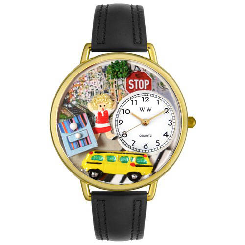 Personalized School Bus Driver Unisex Watch