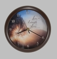 Live Laugh Love Song Clock