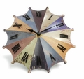 Umbrella Desk Clock - Rainbow