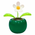 Solar Powered Dancing Flower - Green