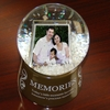 Digital Photo Snow Globe � Memories
