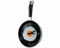 Frying Pan Clock With Egg