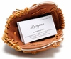 Mini Baseball Glove Business Card Holder