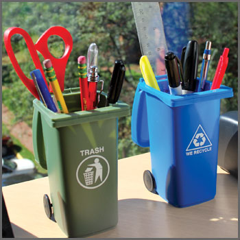 Desktop Trash and Recycle Bin Organizers