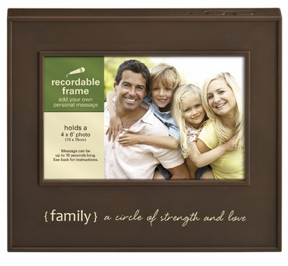 Recordable Picture Frame - Family