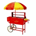 Nostalgia Electrics� Hot Dog Cart HDC-701 Carnival w/Umbrella
