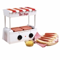 Nostalgia Electrics� Hot Dog Roller Grill/Griddle HDR-565 Old Fashioned