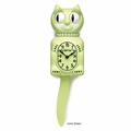 Lime Green Lady Kit-Cat Clock - Limited Edition