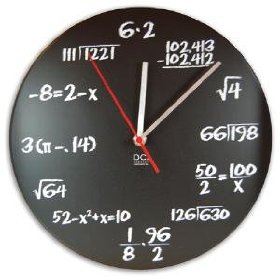 Pop Quiz Wall Clock