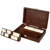 Travel Rummikub with Walnut Case
