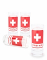First Aid Shot Glasses - Set of 4