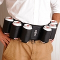 Personalized Joe Six Pack Beer Belt