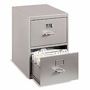 Miniature File Cabinet Business Card Holder