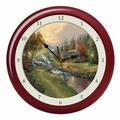 Thomas Kinkade Sound Clock - Mountain of Paradise