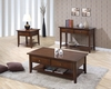 Storage coffee table with shelf model # 700958