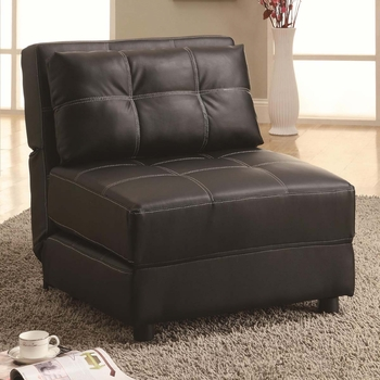 3 in one Arlington Chair, bed, lounger
