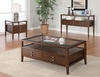 Storage Coffee Table with glass top model # 701348